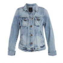 cache cache veste en jean