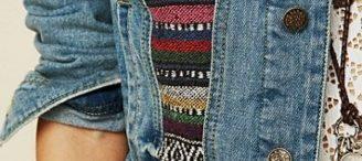Customiser une veste en jean