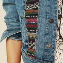 customiser veste en jean