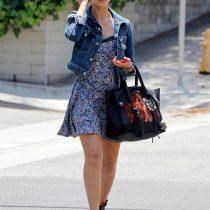 robe avec veste en jean