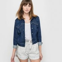 vest en jean femme