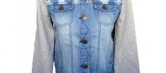 Veste en jean ado fille