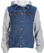 veste en jean ado garçon