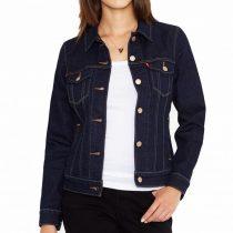 veste en jean brut femme