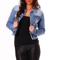 veste en jean courte femme pas cher