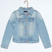 veste en jean enfant fille