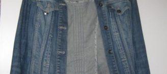 Veste en jean femme camaieu