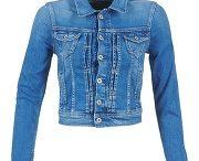 Veste en jean femme pepe jeans