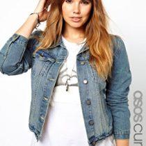 veste en jean grande taille