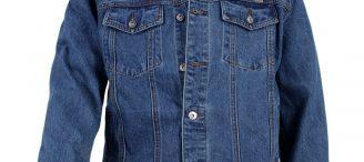 Veste en jean homme grande taille