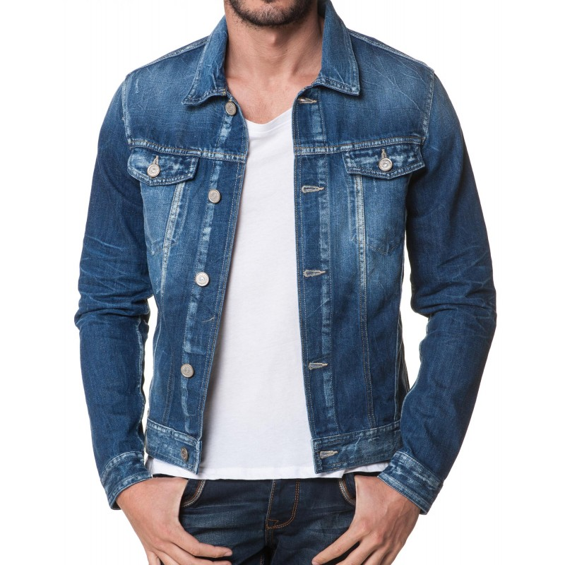 veste en jean jack and jones