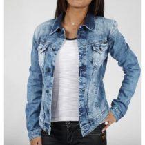 veste en jean kaporal femme