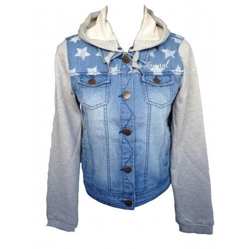 veste en jean pour fille