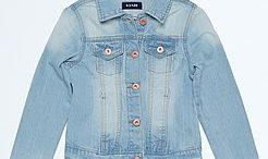 Veste en jeans bebe fille