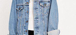 Veste en jeans boyfriend
