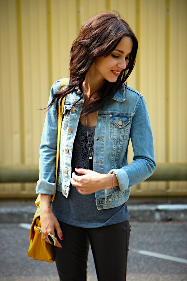 veste en jeans h&m