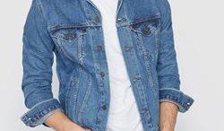 Veste en jeans homme