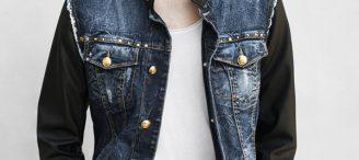 Veste en jeans homme zara