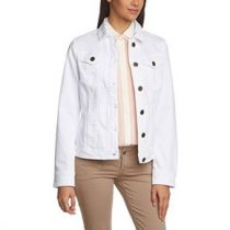 veste jean blanc femme