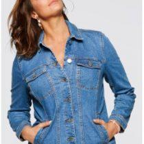 veste jean grande taille femme