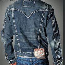 veste jean homme pas cher