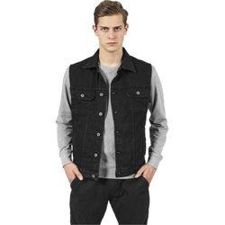 veste jean noire homme