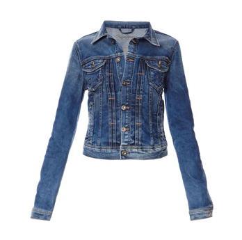 veste jeans femme pas cher