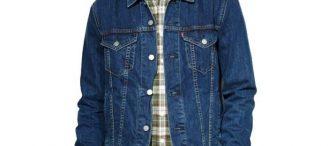 Veste jeans levis homme
