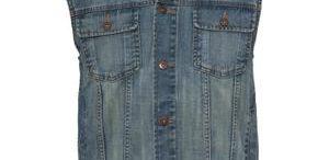 Veste jeans sans manche