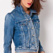 vestes en jean femme