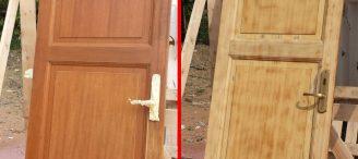 Comment poncer une porte ?